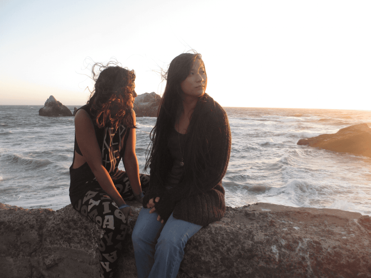 Istifaa & Ilexis at the Sutro Baths