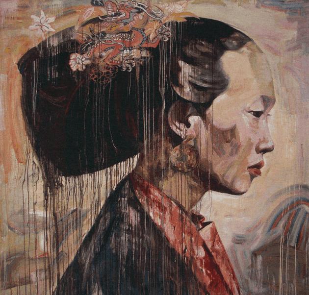 'Profile II' by Hung Liu