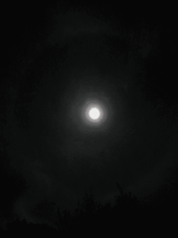 A full circle for our total eclipse, and the last supermoon eclipse for many years. A night of new beginnings.