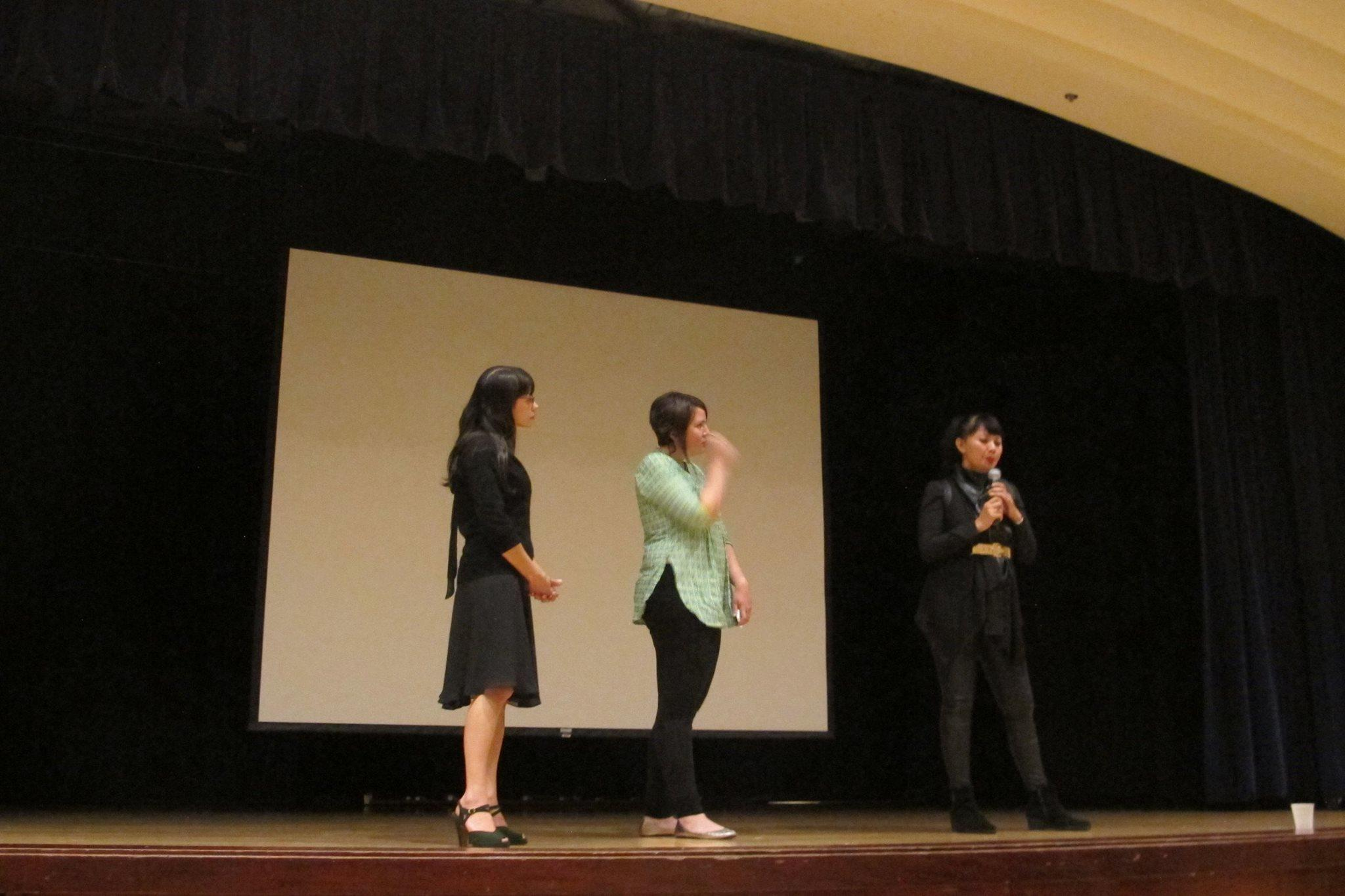Julie Thi Underhill, Ina Adele Ray, and Doan Hoang