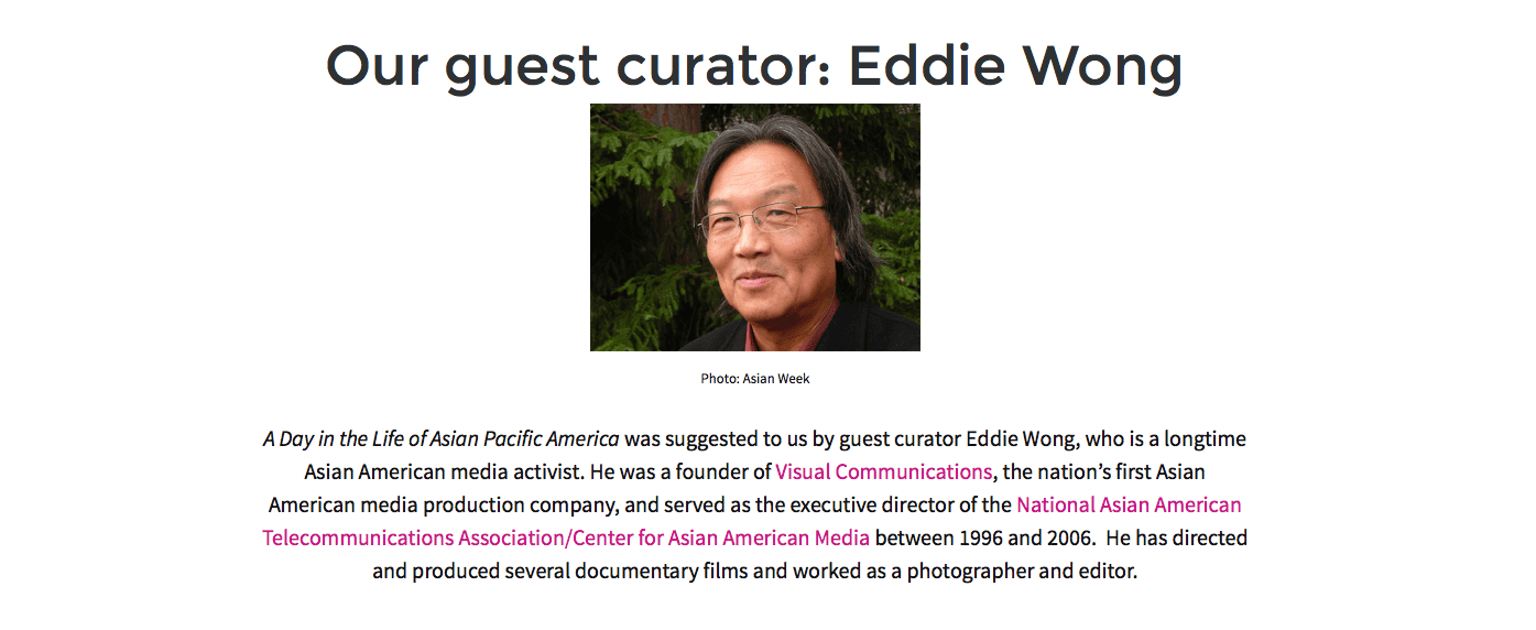 Smithsonian guest curator